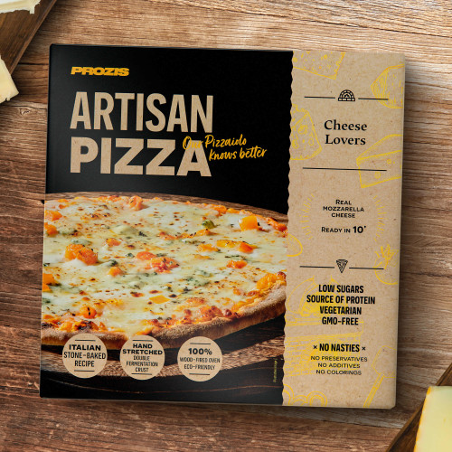 Artisan Wood-Fired Pizza - Cheese Lovers 335g