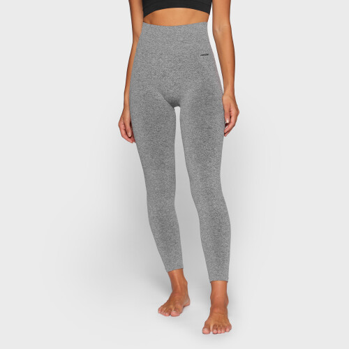 Elements WS001 High Waist Leggings - Gray Melange