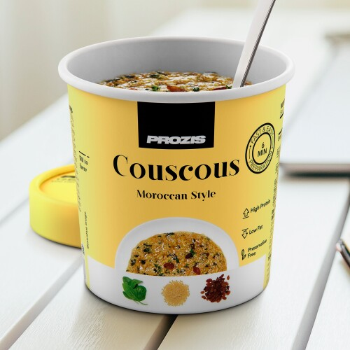 Moroccan-Style Protein Couscous