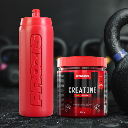 Creatine Creapure® 300 g + Free Bottle