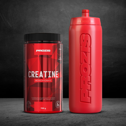 Creatine Monohydrate 700 g + Free Bottle