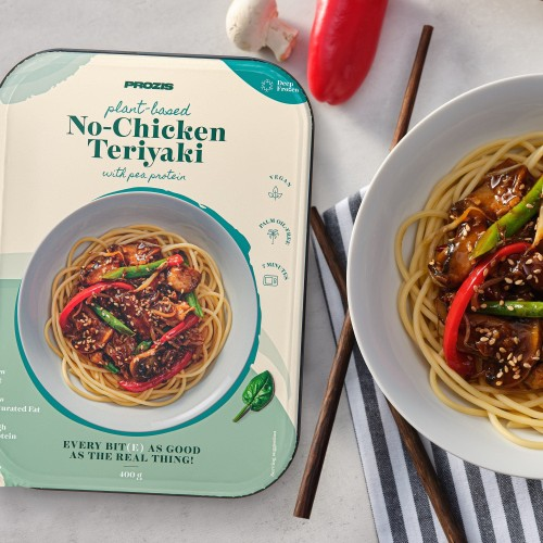 Plant-based No-Chicken Teriyaki