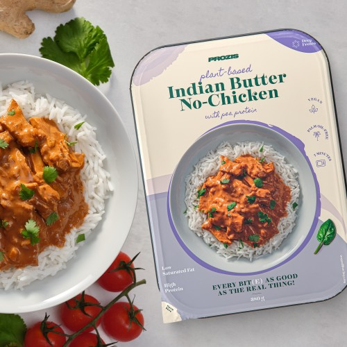Plant-based Butter No-Chicken