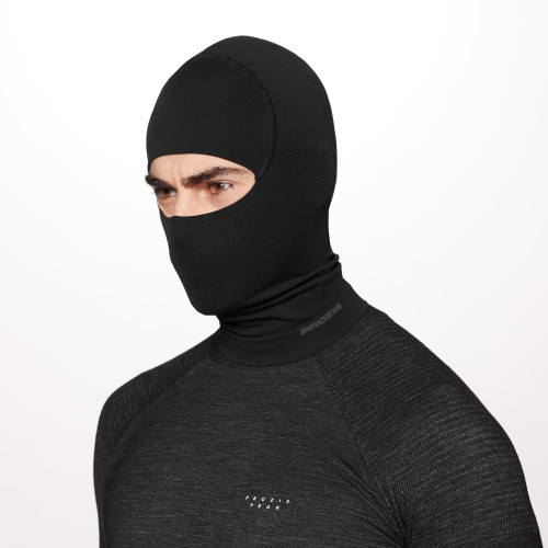 Peak Raider Balaclava - Black
