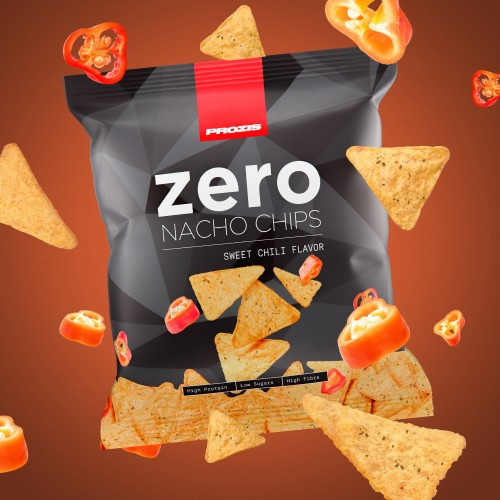 Zero Protein Nacho Chips - Sweet Chili 25 g