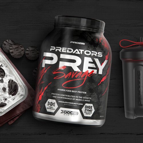 Predators Prey New Breed 3600 g