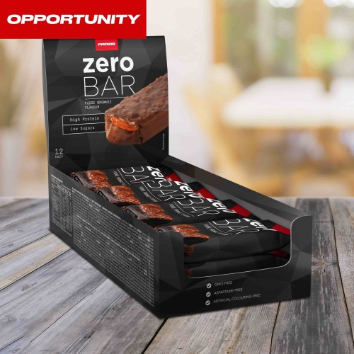 12 x Zero Bar 40 g - Low Sugars Opportunity