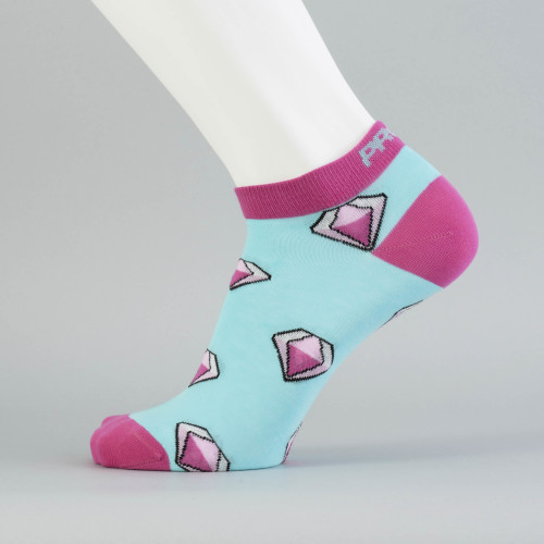 B-Style Ankle Socks - Diamonds