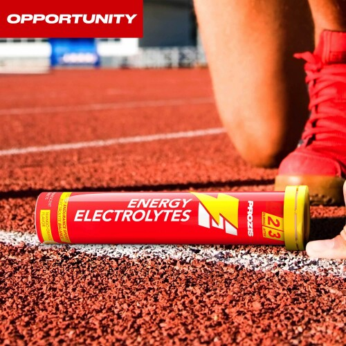 Energy Electrolytes 20 Effervescent tabs Opportunity