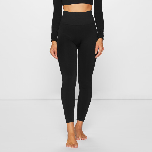 Elements WS001 High Waist Leggings - Black