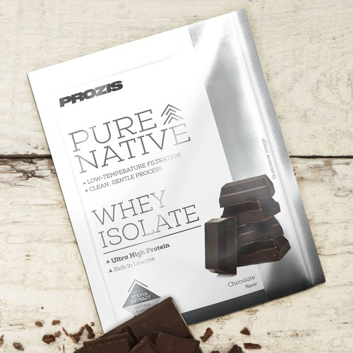 Sachet Natural Pure Native Whey Isolate 25 g