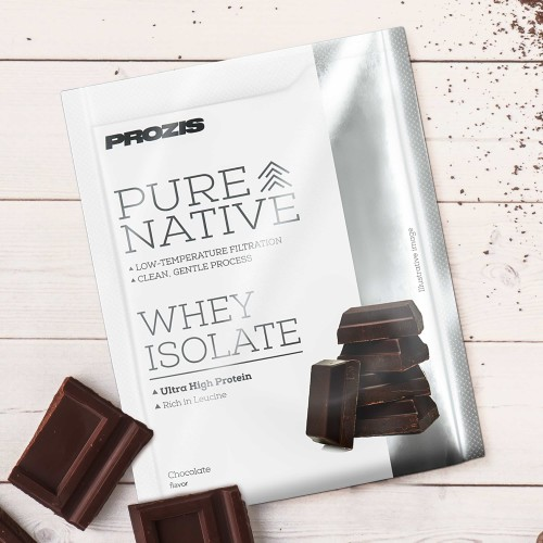 Sachet Pure Native Whey Isolate 25 g