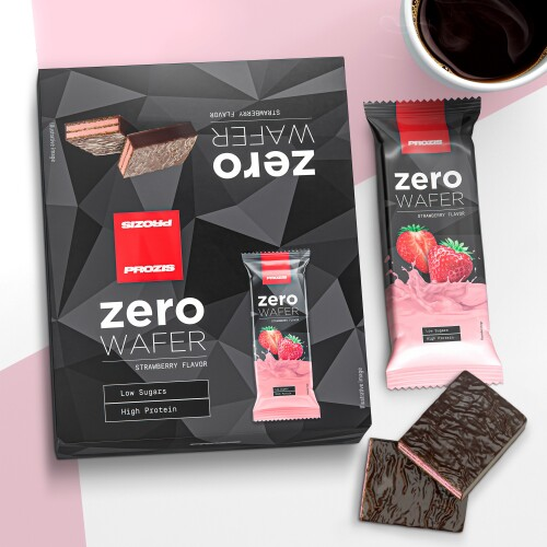 12 x Zero Wafer 40 g - Low Sugar - Protein Wafer