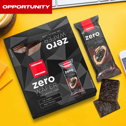 12 x Zero Wafer 40 g - Low Sugar - Protein Wafer Opportunity