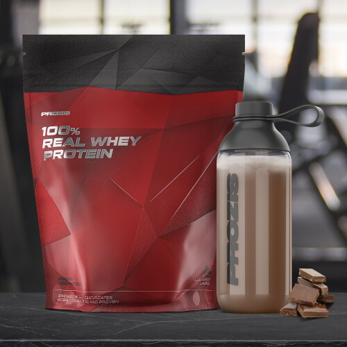 100% Real Whey Protein 2000 g + Free Shaker Bottle