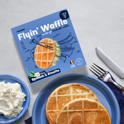 Flying Waffle - Spinach & Ricotta 160g