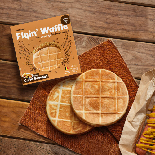 Flying Waffle - Curry Sausage 160g