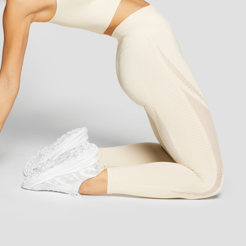 Peak Stratus Leggings - Ivory