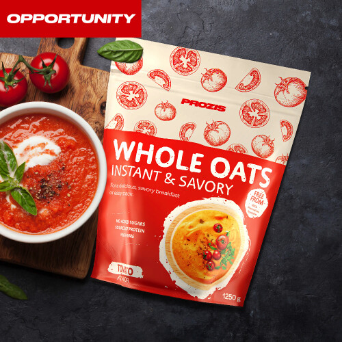 Savory Instant Whole Oats 1250 g Opportunity