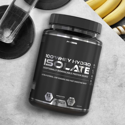 100% Whey Hydro Isolate 900 g