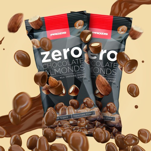 2 x Zero Chocolate Almonds 40 g