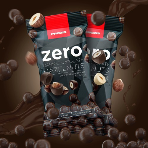 2 x Zero Dark Chocolate Hazelnuts 40 g