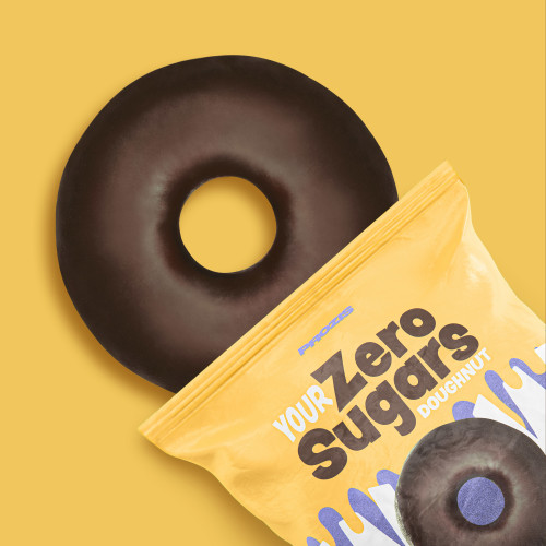 Zero Sugars Doughnut - Chocolate Covered 50 g