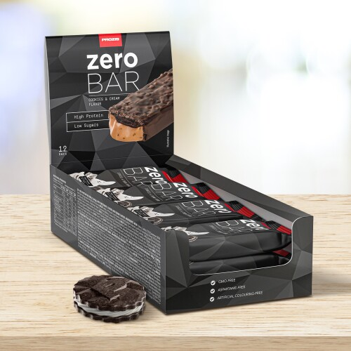 12 x Zero Bar 40 g - Faible en Sucres