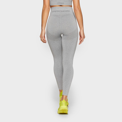 X-Skin Contour High Waist Leggings - Light Gray Melange