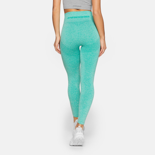 X-Skin Contour High Waist Leggings - Green Melange