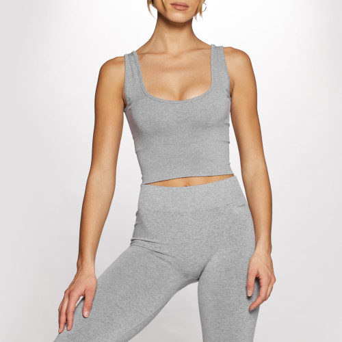 Elements WS001 Sports Bra - Gray Melange