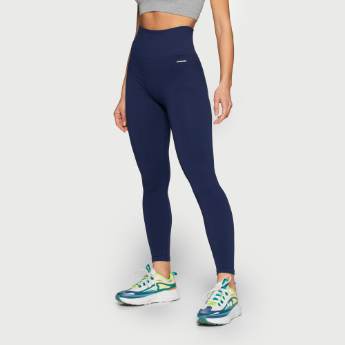 Leggings de cintura alta X-Skin First Step - Navy Blue