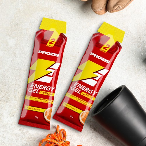 2 x Energy Gel + Caffeine 25 g