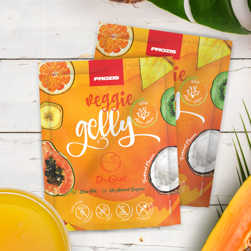 2 x Veggie Gelly - D-Gest 15 g Tropical