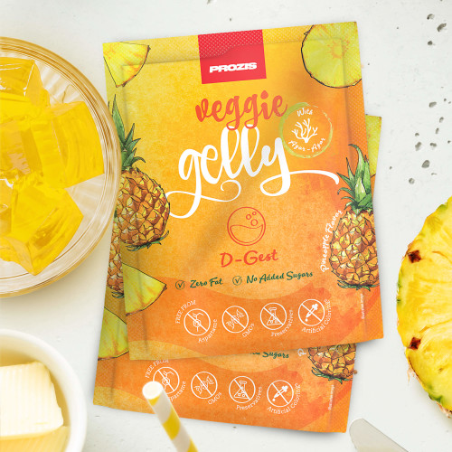 2 x Veggie Gelly - D-Gest 15 g Pineapple