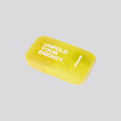 Unfold Your Energy Pillbox - Yellow