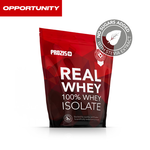 Natural Real Whey Isolate 1000  g + 2 x Zero Shake RTD 250 ml Grátis