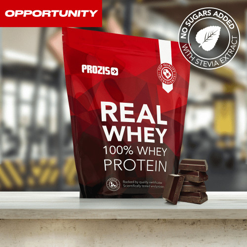 Natural Real Whey Protein 1000 g + Free 2 x Zero Shake RTD 250 ml