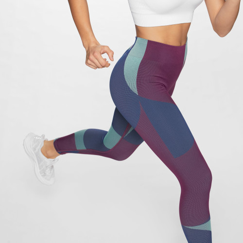 Crush Colors Leggings - Navy Blue