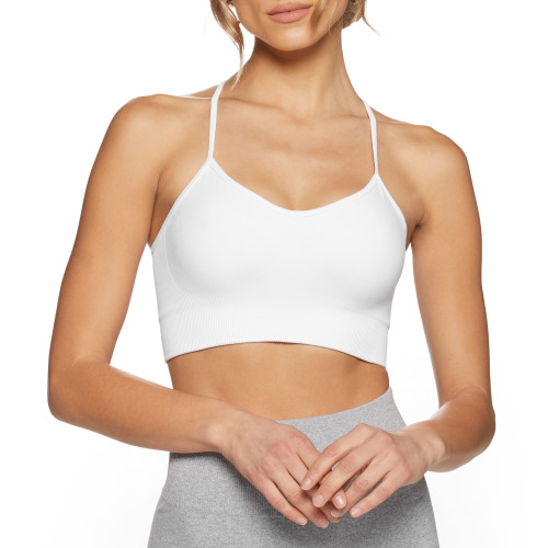 Elements WS002 Sports Bra - White