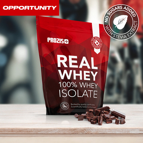 Natural Real Whey Isolate 1000 g + Free 2 x Zero Shake RTD 250 ml