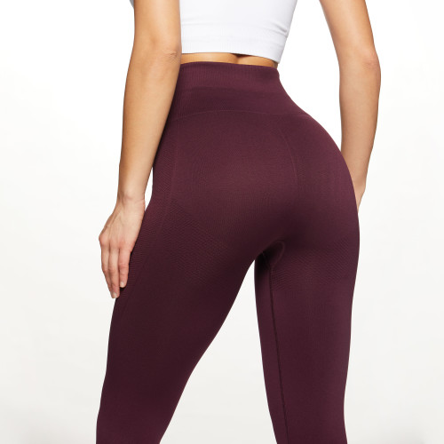 X-Skin Contour High Waist Leggings - Bordeaux