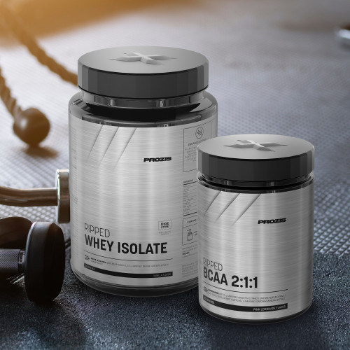 RIPPED Whey Isolate 900 g + RIPPED BCAA Gratuit