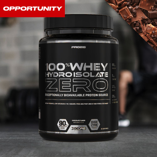 100% Whey Hydro Isolate Zero 750 g Opportunity