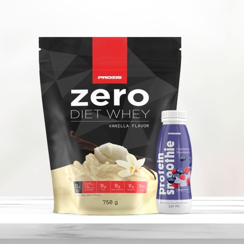 Zero Diet Whey 750 g + Free Protein Smoothie 330 ml