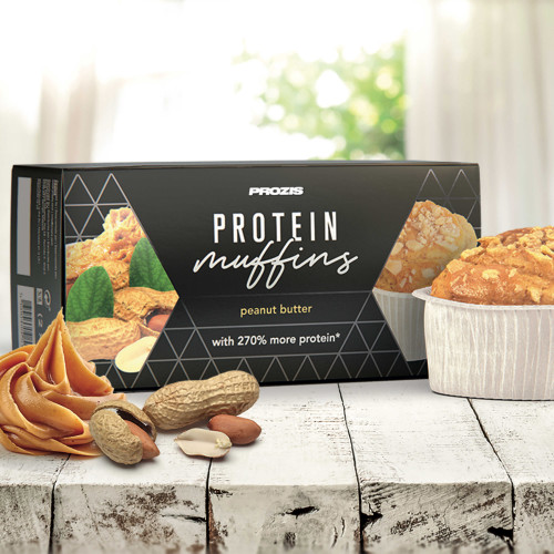 2 x Protein Muffins - Beurre de Cacahuète 60 g