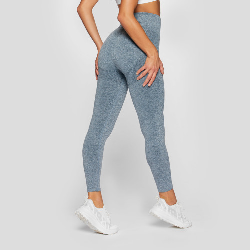 X-Skin Contour High Waist Leggings - Blue Melange