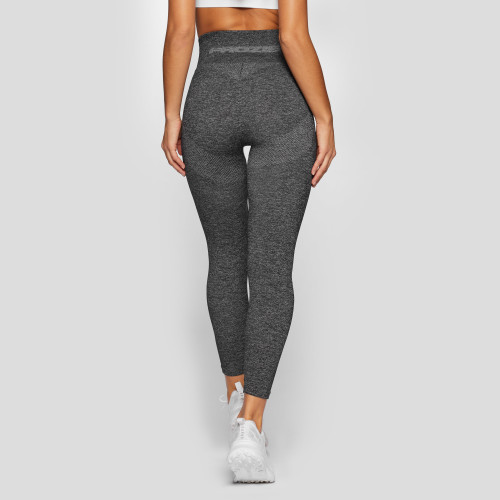 X-Skin Contour High Waist Leggings - Dark Gray Melange