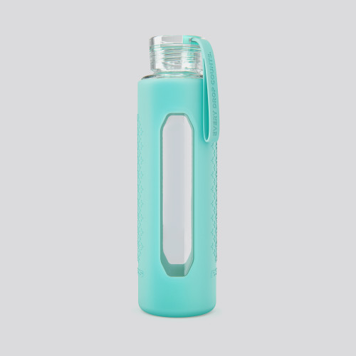 Starlight Glass Bottle - Mint Green 550ml