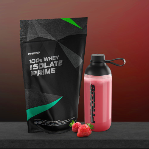 100% Whey Prime Isolate 2000 g + Free Shaker Bottle